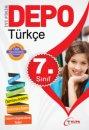 7.Sınıf  Türkçe  Yardımcı  Ders  Kitabı Depo Yayınları