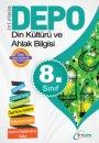 8.Sınıf  Din  Kültürü Ve  Ahlak Bilgisi Yardımcı  Ders Kitabı Depo Yayınları