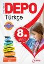 8.Sınıf  Türkçe Yardımcı  Ders  Kitabı Depo Yayınları