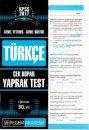 2017 KPSS Genel Yetenek Genel Kültür Türkçe Çek Kopar Yaprak Test Pegem  Yayınları