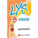 FenCebir Yayınları LYS 1 Matematik 5 Deneme Sınavı