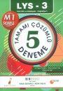 Pelikan Yayınları  LYS 3 Türk Dili ve Edebiyatı Coğrafya 1 Tamamı Çözümlü Kısa Cevaplı Açık Uçlu 5 Deneme Sınavı