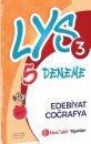 FenCebir Yayınları LYS 3 Edebiyat Coğrafya Deneme Sınavı