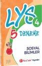 FenCebir Yayınları LYS 4 Sosyal Bilimler Deneme Sınavı