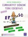 Efso Yayınları Hafıza Teknikleriyle Cumhuriyet Dönemi Türk Edebiyatı