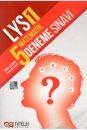 Nitelik Yayınları LYS 1 Matematik 5 Deneme Sınavı Kısa Cevap