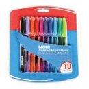 Noki Comfort Plus Colors 10 Renk 10 Adet Renkli Tükenmez Kalem 1 mm