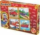 Kırkpabuç Kırmızı Vosvos 4x16 Parça (Karton) 6104