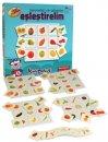 Kırkpabuç Meyveler ve Sebzeler - Eşleştirelim Kutu Oyunu (Karton) 7309