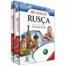 Kapadokya Yayınları 80 Derste Rusça Temel Seviyede Rusça Öğrenim Kitabı 2 Cilt