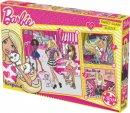 Kırkpabuç Barbie Sweet Glam 25-36-49 Parça BRB.6823