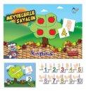 Kırkpabuç Meyvelerle Sayalım Kutu Oyunu (Karton) 7307