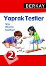 2.Sınıf  Yaprak (Konu) Testleri Berkay Yayınları