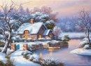 Anatolian Kışlıkta Akşamüstü / Winter Evening