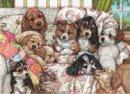Anatolian Vavru Köpekler / Puppies 1000 Parça Puzzle
