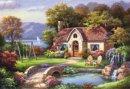 Taşköprü Konağı / Stone Bridge Cottage 3914 2000 Parça Puzzle