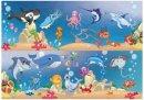 Kırkpabuç E.Puzzle Deniz Hayvanları / Sea Anımals 22 Parça 6116