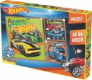 Kırkpabuç Hot Wheels Go On Green 25-36-49 Parça HTW.6853