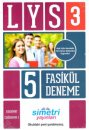 Simetri Yayınları LYS 3 Fasikül 5 Deneme