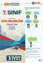 7. Sınıf Fen Bilimleri Çek Kopar Yaprak Test İşleyen Zeka Yayınları