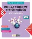 8. Sınıf TEOG T.C. İnkılap Tarihi ve Atatürkçülük Soru Bankası Şenol Hoca Yayınları