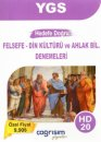 YGS Hedef Doğru Felsefe Din Kültürü ve Ahlak Bilgisi 20 Denemeleri Çağrışım Yayınları
