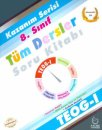 8. Sınıf TEOG 1 Kazanım Serisi Tüm Dersler Soru Kitabı Palme Yayıncılık