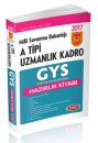 2017 GYS Milli Savunma Bakanlığı A Tipi Uzmanlık Kadro Hazırlık Kitabı Data Yayınları