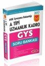 2017 GYS Milli Savunma Bakanlığı A Tipi Uzmanlık Kadro Soru Bankası Data Yayınları
