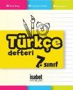7. Sınıf Türkçe Defteri İsabet Yayınları