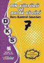 7. Sınıf DKS Din Kültürü ve Ahlak Bilgisi Ders Kontrol Sınavları 10 lu Deneme Berkay Yayıncılık