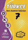 7. Sınıf DKS Türkçe Ders Kontrol Sınavları 10 lu Deneme Berkay Yayıncılık