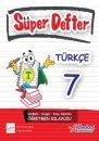 7. Sınıf Türkçe Süper Defter Berkay Yayıncılık