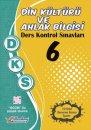 6. Sınıf DKS Din Kültürü ve Ahlak Bilgisi Ders Kontrol Sınavları 10 lu Deneme Berkay Yayıncılık