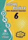 6. Sınıf DKS Sosyal Bilgiler Ders Kontrol Sınavları 10 lu Deneme Berkay Yayıncılık
