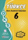 6. Sınıf DKS Türkçe Ders Kontrol Sınavları 10 lu Deneme Berkay Yayıncılık