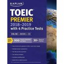 Kaplan Publishing TOEIC Premier 2018 2019 with 4 Practice Tests OnlineBookCD
