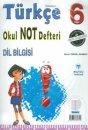 Mutlu Yayınları 6. Sınıf Türkçe Okul Not Defteri Dil Bilgisi