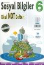 Mutlu Yayınları 6. Sınıf Sosyal Bilgiler Okul Not Defteri
