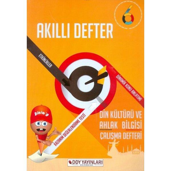 6. Sınıf Din Kültürü ve Ahlak Bilgisi Çalışma Defteri Akıllı Defter DDY Yayınları