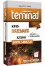 2018 KPSS Teminat Matematik Açıklamalı Soru Bankası 657 Yayınları
