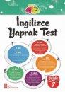 7. Sınıf İngilizce Yaprak Test Ata Yayıncılık