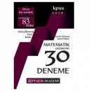 2018 KPSS Matematik Geometri 30 Deneme Pegem Yayınları