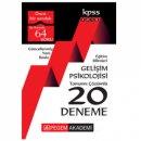 2018 KPSS Eğitim Bilimleri Gelişim Psikolojisi Tamamı Çözümlü 20 Deneme Pegem Yayınları