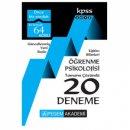 2018 KPSS Eğitim Bilimleri Öğrenme Psikolojisi Tamamı Çözümlü 20 Deneme Pegem Yayınları
