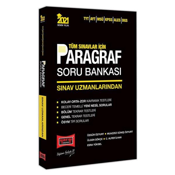 2021 Tüm Sınavlar İçin Sınav Uzmanlarından Paragraf Soru Bankası Yargı Yayınları