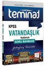 2018 KPSS Teminat Vatandaşlık Açıklamalı Soru Bankası 657 Yayınları