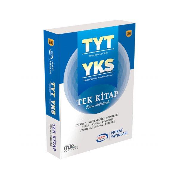 YKS TYT Tek Kitap Konu Anlatımlı Murat Yayınları 2570