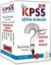 2018 KPSS Eğitim Bilimleri Karizma Sorular Çözümlü ve Cevaplı Modüler Soru Bankası Yargı Yayınları