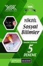 YÖKDİL Sosyal Bilimler Tamamı Çözümlü 5 Deneme Pegem Yayınları